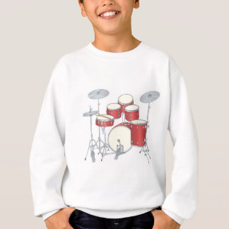 drum set sweatshirt