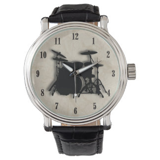 Drum Set Wrist Watch