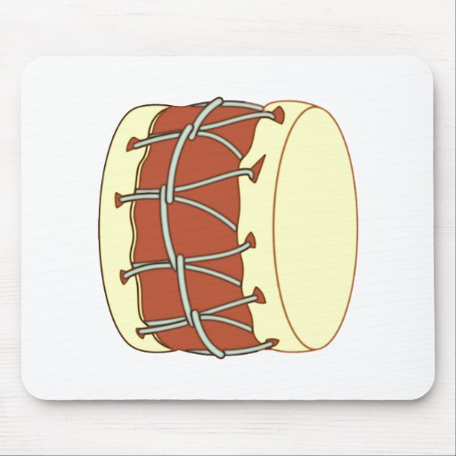 Drum therefore mousepad