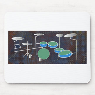Drum World Mouse Pad