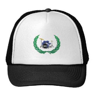 drum wreath trucker hat
