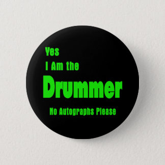 Drummer 2 Inch Round Button