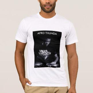 Drummer Afro Thunda T-Shirt