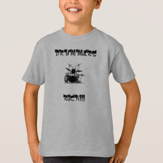 Drummer, DRUMMERS, ROCK!!! T-Shirt