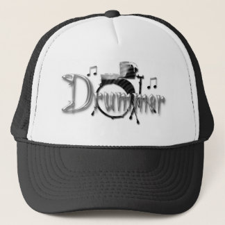 Drummer Drums Trucker Hat