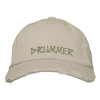 DRUMMER EMBROIDERED HAT