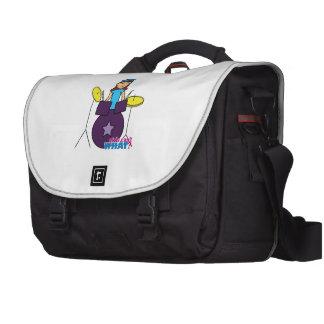 Drummer Girl Laptop Bag
