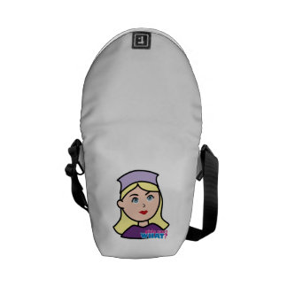 Drummer Head Light/Blonde Courier Bag
