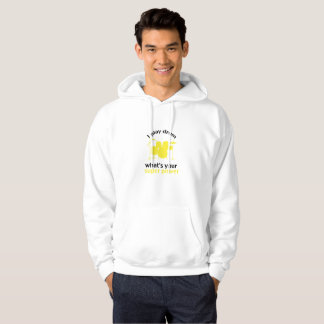 Drummer I play drums whats your super power Hoodie