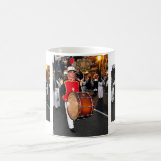 Drummer in the palm sunday parade, Marbella Classic White Coffee Mug