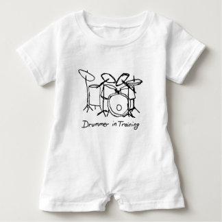 Drummer in Training Baby Romper
