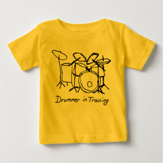Drummer in Training Baby T-Shirt