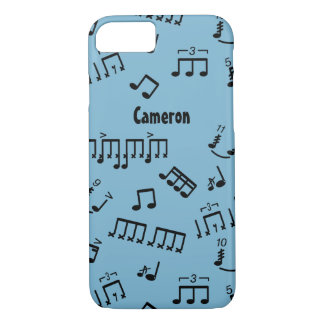 Drummer iphone Case Your Color Drum Music Notes