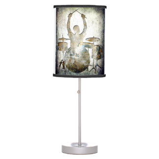 Drummer Lamp, Copyright Karen J Williams Table Lamp
