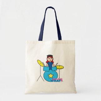 Drummer Light/Red Bags
