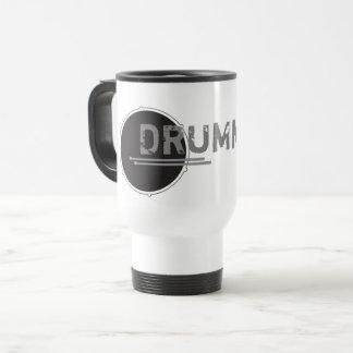 Drummer Lover Music Hard Rock Minimal Cool Stylish Travel Mug