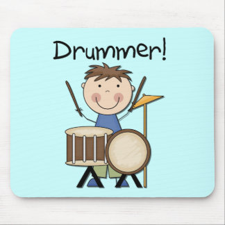 Drummer - Male Tshirts and Gifts Mouse Pad
