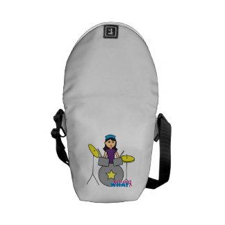 Drummer - Medium Messenger Bags