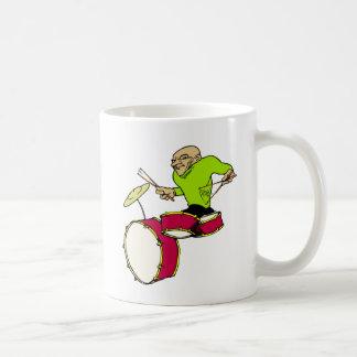 drummer basic white mug