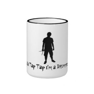 Drummer Mug! Ringer Coffee Mug