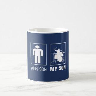 DRUMMER - MY SON COFFEE MUG