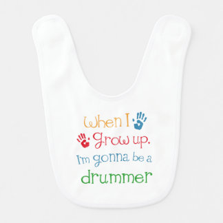 Drummer Player (Future) Child Bib