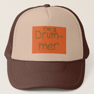 drummer trucker hat