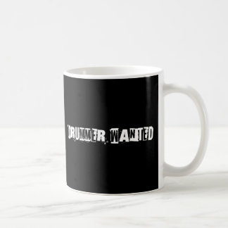 Drummer Wanted Coffee Mug
