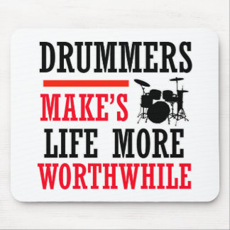 drummers design mouse pad