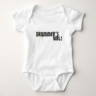 Drummer's Girl! Baby Bodysuit