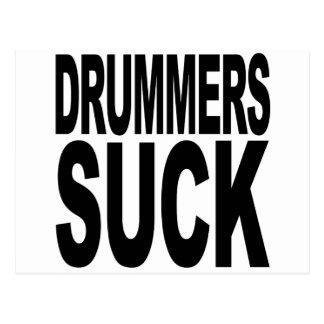 Drummers Suck Postcard