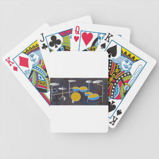 Drumming Along! Bicycle Playing Cards