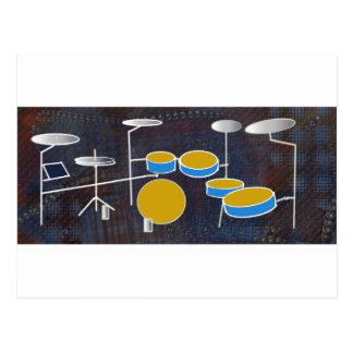 Drumming Along! Postcard