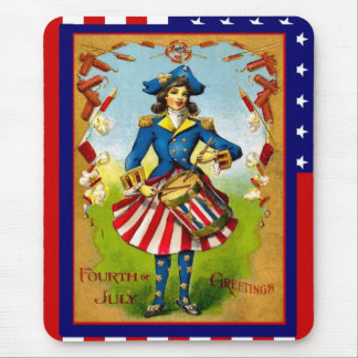 Drumming for freedom mouse pad