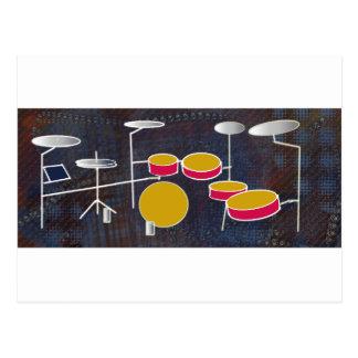 Drumming Fun! Postcard