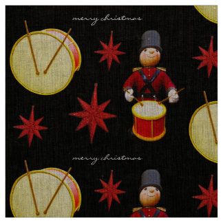 drumming nutcracker fabric