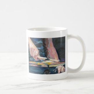 Drumming playing drums coffee mug