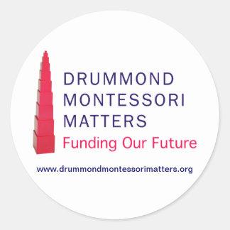 Drummond Montessori Matters Stickers