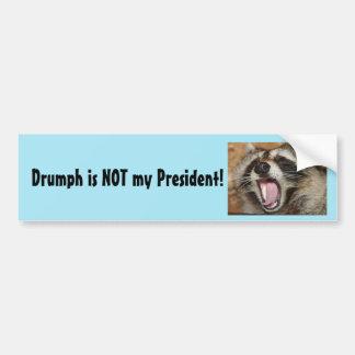 Drumph is NOT my President! Bumper Sticker