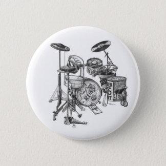 Drums 2 Inch Round Button