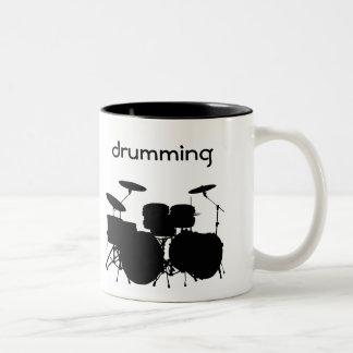 Drums Design Coffee Mug