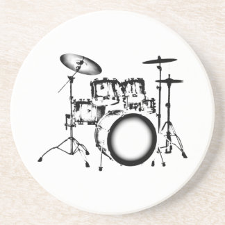 "Drums ""Drawing"" Coaster"