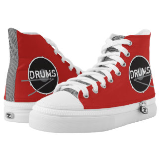 Drums Drummer Percussion Minimal Rock Music Cool High Tops