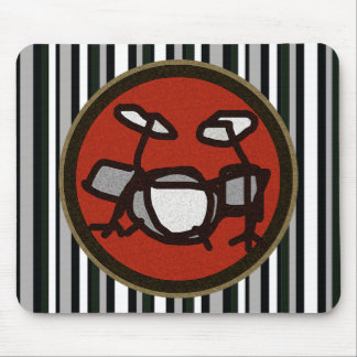 drums, drumming gifts mousepads