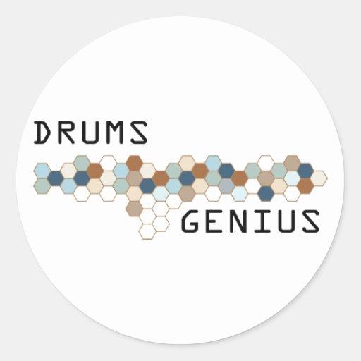 Drums Genius Stickers