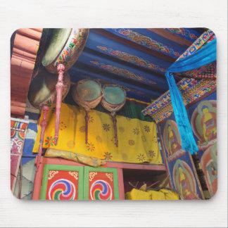 Drums Inside A Temple Mouse Pad