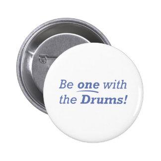 Drums / One 2 Inch Round Button