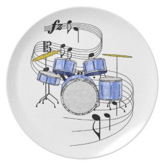 Drums Plate