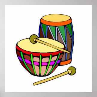Drums Print
