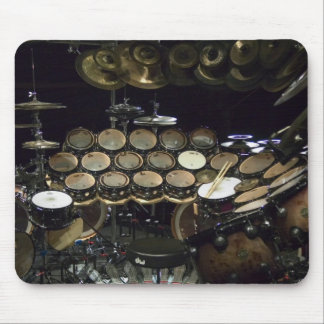 Drums power mouse pad